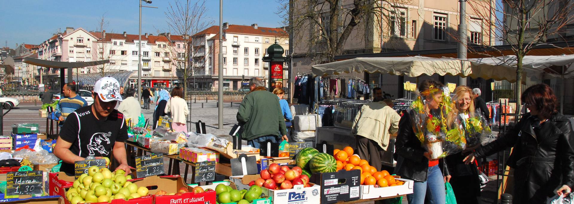 Market Epinal - Covered market - Local products - Local products - Vosges products