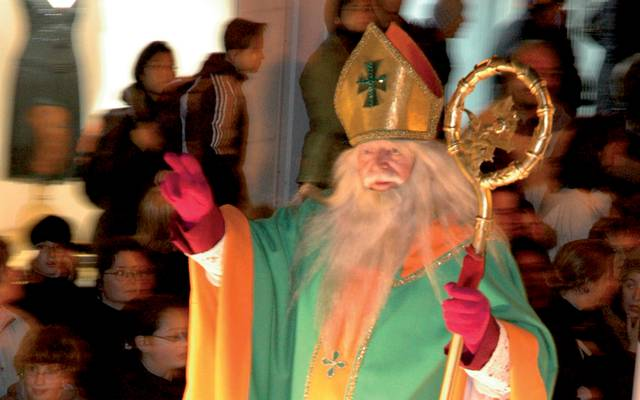 The magic of December with Saint-Nicolas