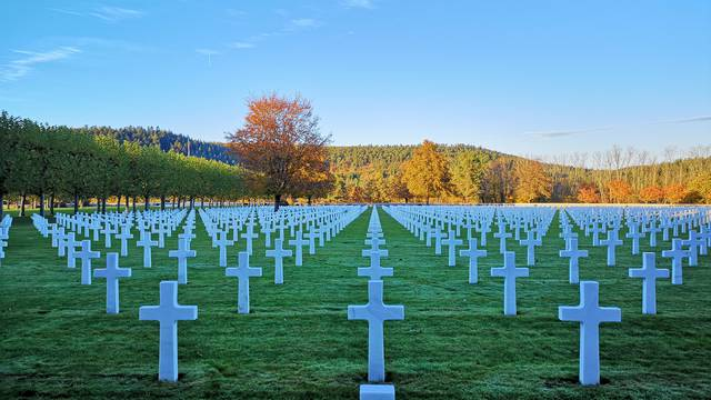 American cemetery - Heritage Epinal - History Vosges