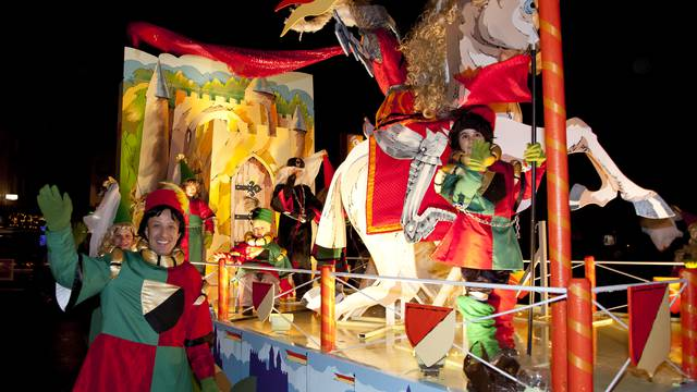 The Saint Nicolas Parade in Épinal
