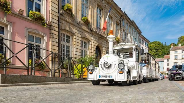 The Mini Tourist Train in Épinal