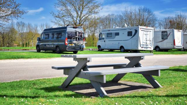 Camper Van parking area
