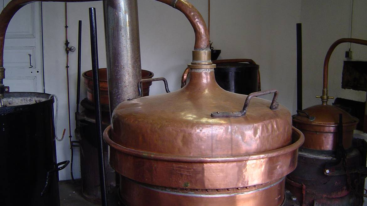 Step 4 : 3.30 p.m. – Visit the distillery - Distillerie Riondé in Saint-Baslemont