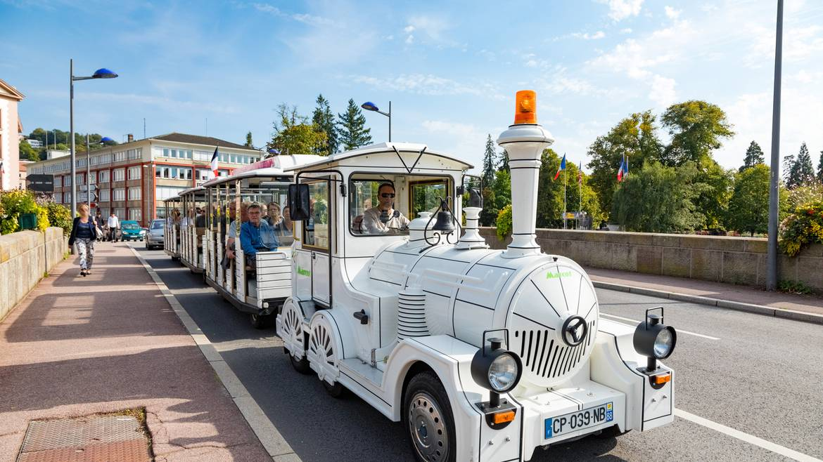 Stage 9 : 11.00 a.m. – Tour around Épinal on the Mini Tourist Train