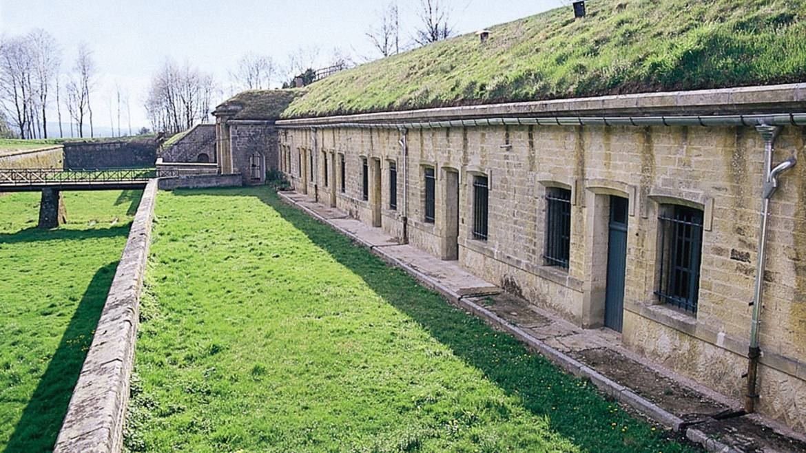 Step 1 : 10.00 a.m. – Visit the Fort in Uxegney.