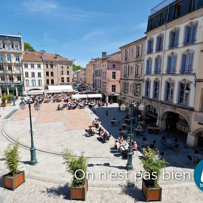 Vosges square in Epinal