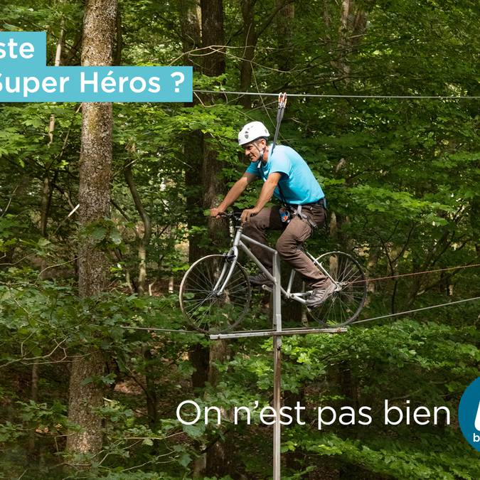 Cyclist or superhero ?