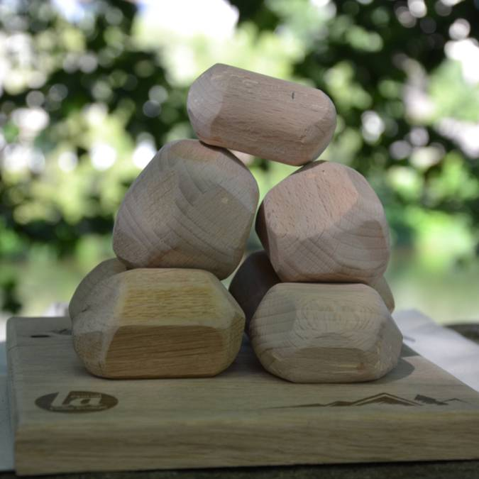 Cairn game - Christmas gifts - Vosges handicraft products - Epinal Tourist Office shop