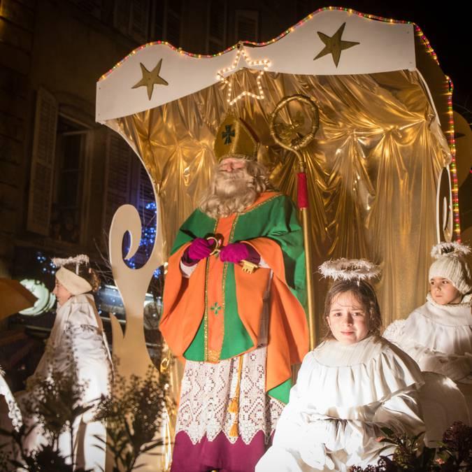 Saint-Nicholas parade Epinal - Saint-Nicholas village