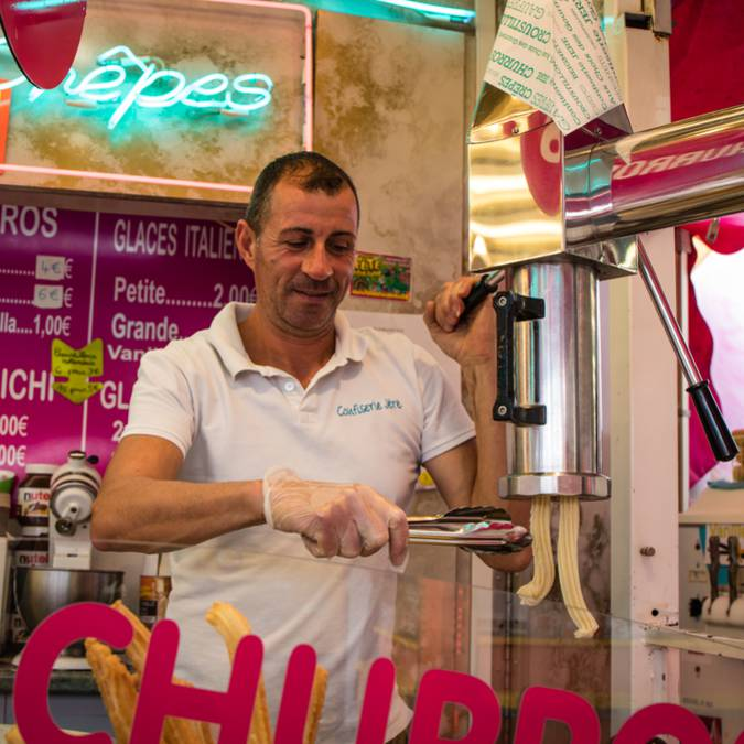 Saint-Maurice funfair Epinal - funfair Epinal - Activities Epinal - Manège Epinal - Churros